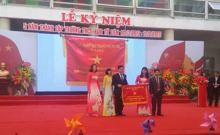 ngoi truong co 95% hoc sinh dat hoc luc gioi hinh anh 1