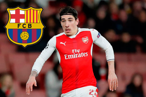 "barcelona an dinh thoi diem ""cuop"" bellerin khoi tay arsenal hinh anh 1"