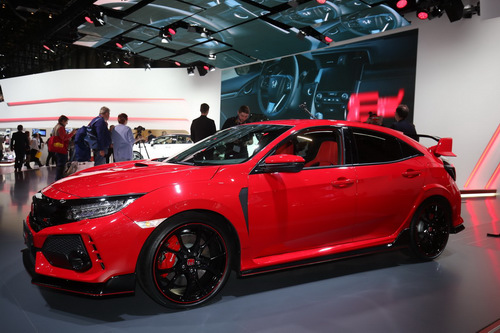 honda civic type r 2018: xe the thao manh 316 ma luc hinh anh 2