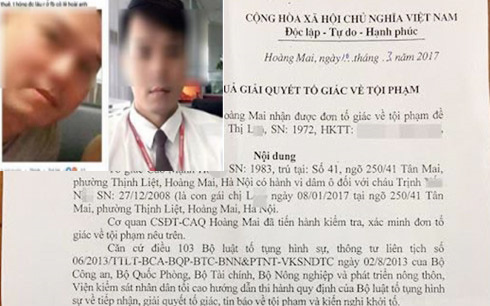 khoi to bi can vu dam o be gai 8 tuoi o ha noi hinh anh 1