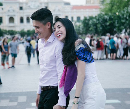 cuoc song vo chong thuy tien len truyen hinh quoc te hinh anh 5