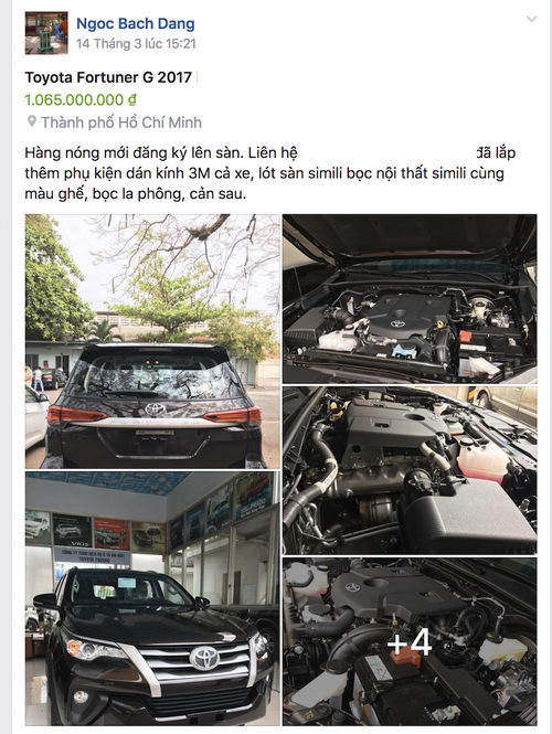 ngac nhien voi toyota fortuner cu co gia dat hon xe moi hinh anh 1