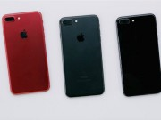 "Video: dap hop iPhone 7 mau do ""sot xinh xich"""