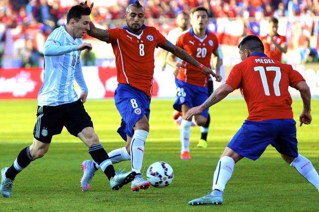 link xem truc tiep argentina vs chile (6h30) hinh anh 1