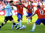 The thao - Link xem truc tiep Argentina vs Chile (6h30)