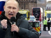 The gioi - Putin keu goi tra thu sau vu tan cong khung bo o London