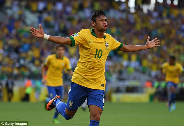 neymar toa sang, brazil doat ve toi world cup 2018 hinh anh 1