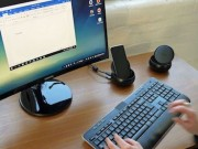 "Samsung Dex Station: Thiet bi ""ho bien"" Galaxy S8 thanh PC"