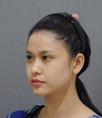 """""""giat minh"""" vi anh thuo moi vao nghe beo u cua truong quynh anh hinh anh 4"""