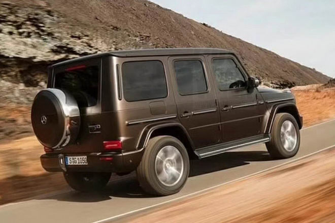 lo dien mercedes g-class 2019 the he hoan toan moi hinh anh 2