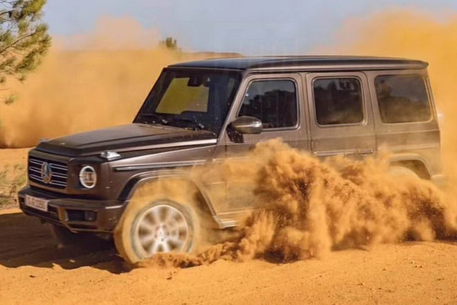 lo dien mercedes g-class 2019 the he hoan toan moi hinh anh 3