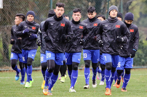 """""""u23 viet nam chi la doi lot duong o vck u23 chau a 2018"""" hinh anh 1"""