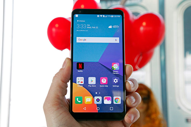 lg g7 xuat hien voi ty le man hinh so voi than may an tuong hinh anh 1