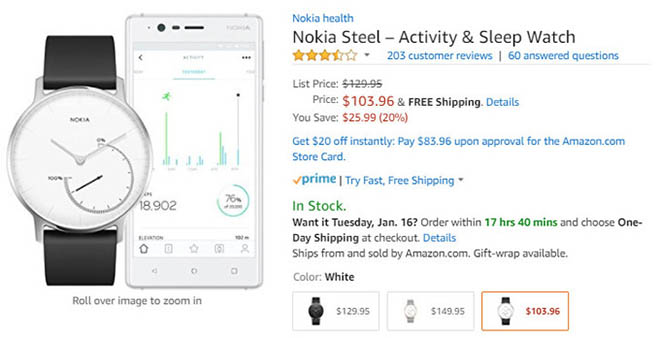 nhanh tay dat mua nokia steel voi gia giam den 600.000 dong hinh anh 2