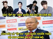 "aNH CHe HoM NAY (15.1): ""op pa"" Park Hang-seo hut fan, Wenger mat Top 4"