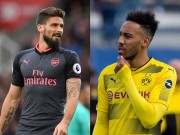 "The thao - Vi Aubameyang, Arsenal bien Giroud thanh ""vat te than""?"