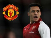 The thao - Gia nhap M.U, Alexis Sanchez co duoc da Champions League?