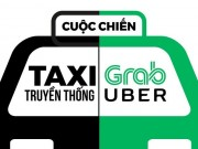 "Taxi truyen thong ""to"" Grab, Uber tung chieu ""ca lon nuot ca be"""