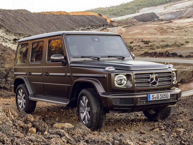chi tiet ve mercedes-benz g-class 2019 the he moi hinh anh 1