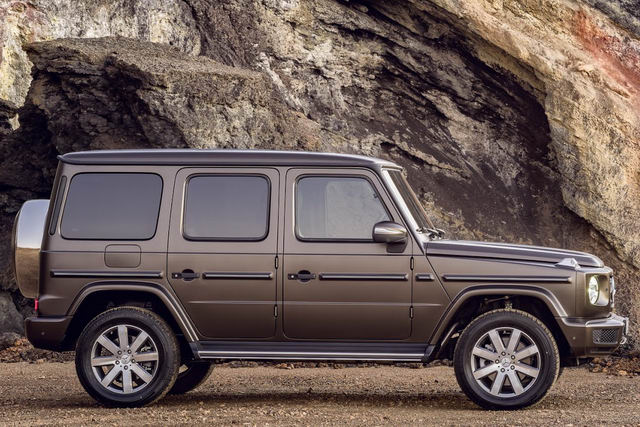 chi tiet ve mercedes-benz g-class 2019 the he moi hinh anh 3