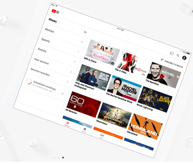 youtube tv da co mat tren apple tv va roku hinh anh 1