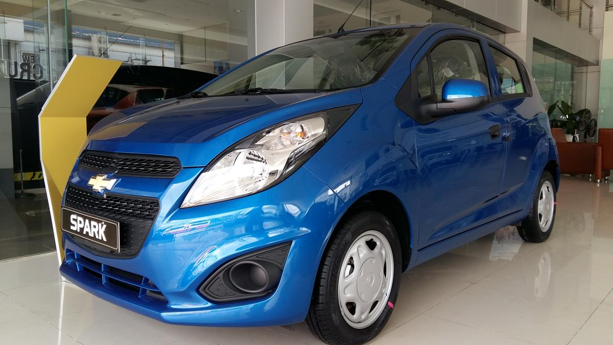 'san tim' xe re nhat thi truong chevrolet spark duo ls chi con 269 trieu hinh anh 1