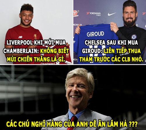 """anh che hom nay (6.2): wenger """"lua dao"""", conte bi hoc tro """"phan"""" hinh anh 1"""