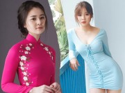 Khong can sexy, hot girl da Nang van cuon hut bat ngo voi ao dai xuan