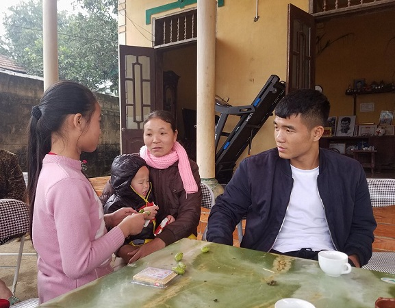 tien dao ha duc chinh: toi se danh tron ngay nghi tet ben gia dinh hinh anh 1