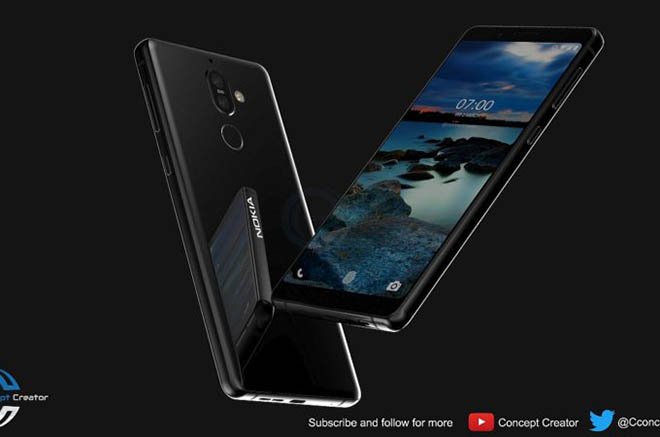 ngam nokia 7 plus y tuong co the duoc hmd ra mat thang nay hinh anh 1