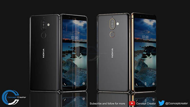 ngam nokia 7 plus y tuong co the duoc hmd ra mat thang nay hinh anh 2