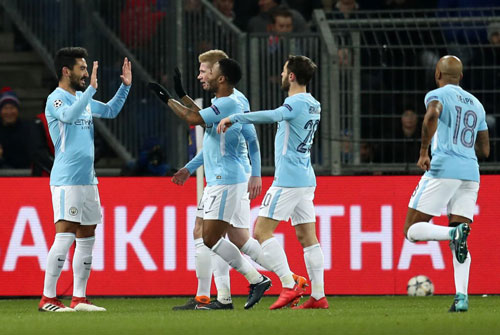 "clip: ""huy diet"" basel, man city chac suat vao tu ket champions league hinh anh 1"