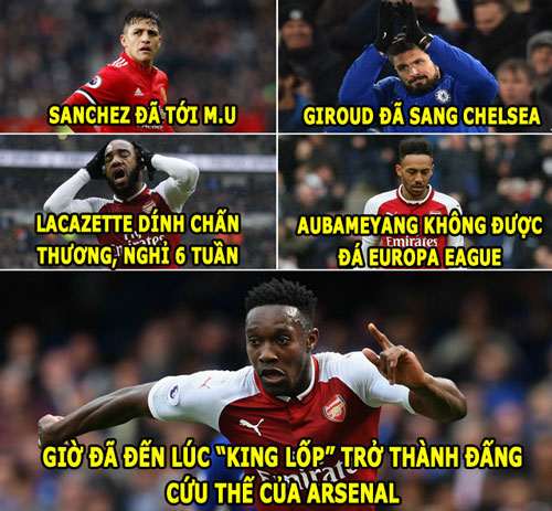 """anh che hom nay (15.2): welbeck tro thanh """"dang cuu the"""" hinh anh 2"""