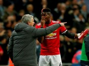 The thao - Ngan den tan co, Mourinho phu phang voi Pogba