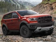 Noi tiep Ford Ranger, Ford Everest se co them phien ban Raptor?