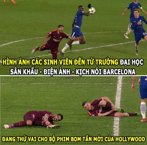 anh che hom nay (21.2): suarez dien kich, conte cam thay may man hinh anh 1