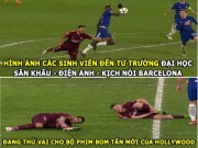 The thao - aNH CHe HoM NAY (21.2): Suarez dien kich, Conte cam thay may man