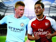 The thao - Xem truc tiep Arsenal vs Man City tren kenh nao?