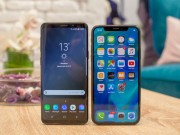 Cong nghe - Galaxy S9 do dang cung iPhone X: Song long tranh ba