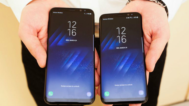 nong: samsung galaxy s8, s8+ giam soc 2,5 trieu dong hinh anh 1