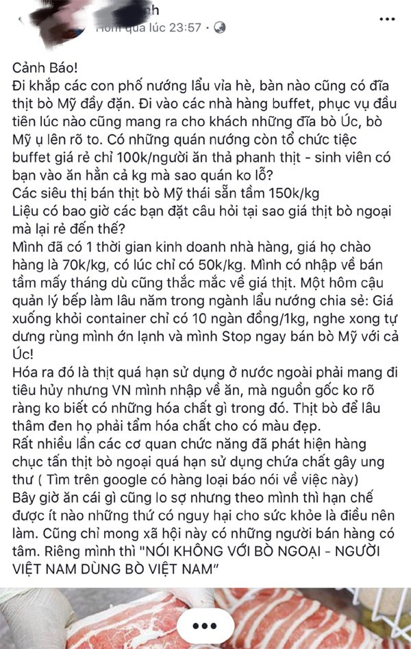 su that bo my ve viet nam co gia sieu re chi 10.000 dong/kg hinh anh 3