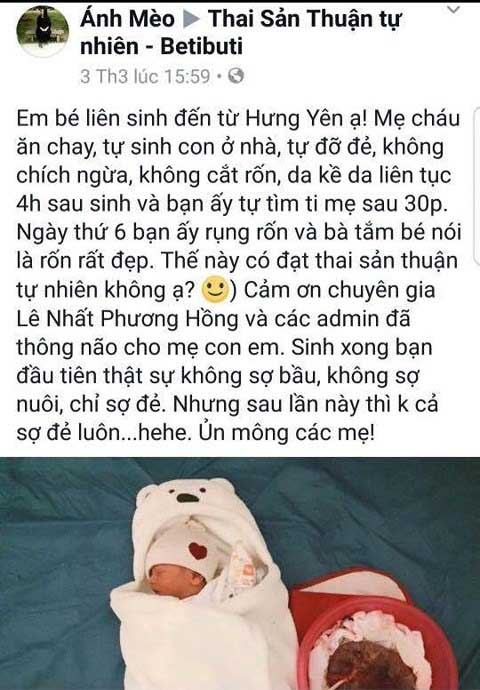 "bo y te truy tim ba me co vu sinh con ""thuan tu nhien"" hinh anh 1"