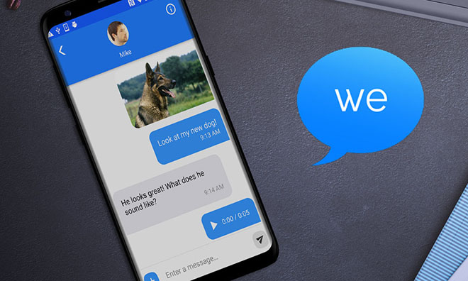 16 tuoi tao ung dung dua imessage len android hinh anh 1