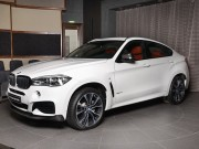 "BMW X6 ""them the thao, them du dan"" qua bo kit AC Schnitzer"