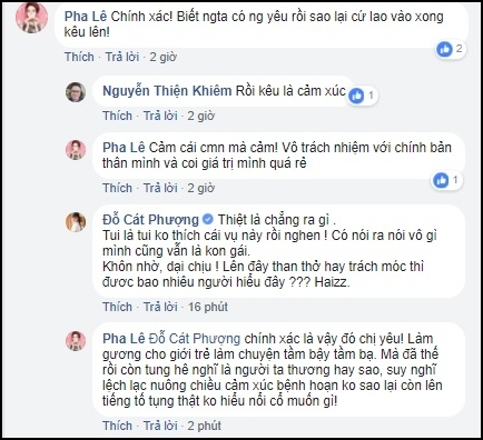 cat phuong chi trich nam em cong khai yeu truong giang vi ly do nay? hinh anh 2