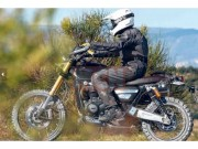 o to - Xe may - Triumph Bonneville Scrambler 1200 lan dau lo dien, off-road an tuong