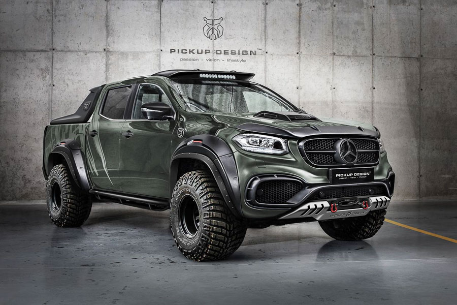 ngam ban tai hang sang mercedes-benz x-class do cuc ngau hinh anh 1