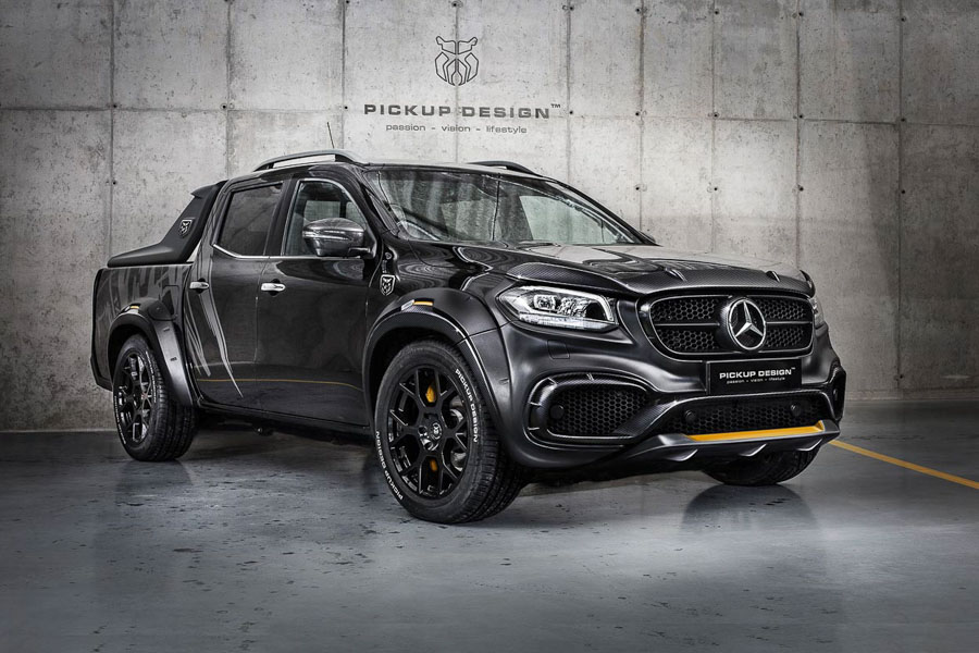 ngam ban tai hang sang mercedes-benz x-class do cuc ngau hinh anh 3
