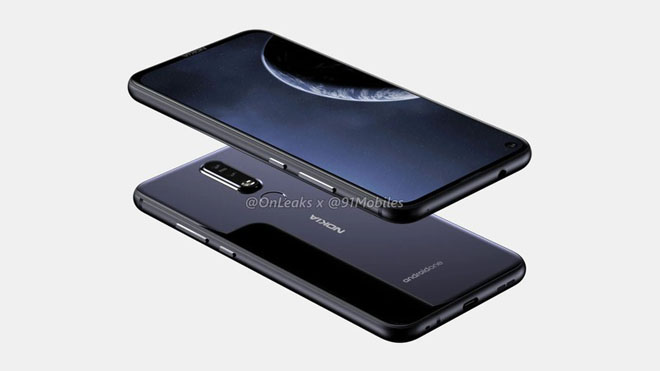 xuat hien nokia 8.1 plus camera kep an tuong chay android goc hinh anh 2