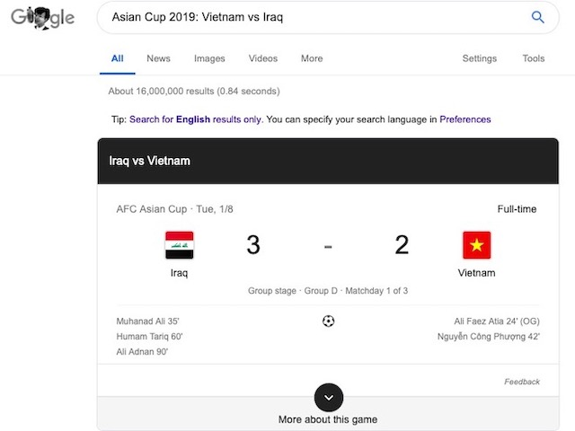 Asian Cup 2019 rất